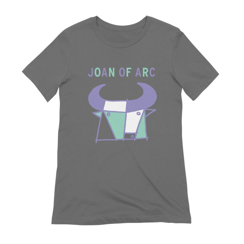 JOAN OF ARC - BULL Women's Extra Soft T-Shirt by Polyvinyl Threadless Shop