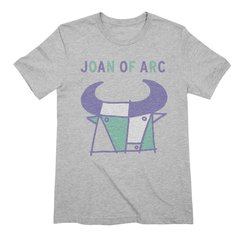 JOAN OF ARC - BULL Men's Extra Soft T-Shirt by Polyvinyl Threadless Shop