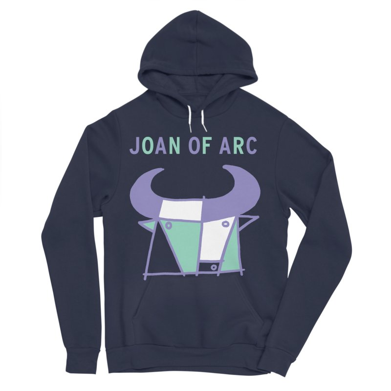 JOAN OF ARC - BULL Women's Sponge Fleece Pullover Hoody by Polyvinyl Threadless Shop