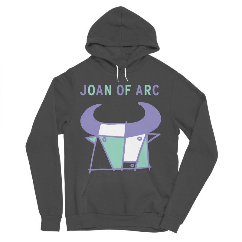 JOAN OF ARC - BULL Men's Sponge Fleece Pullover Hoody by Polyvinyl Threadless Shop