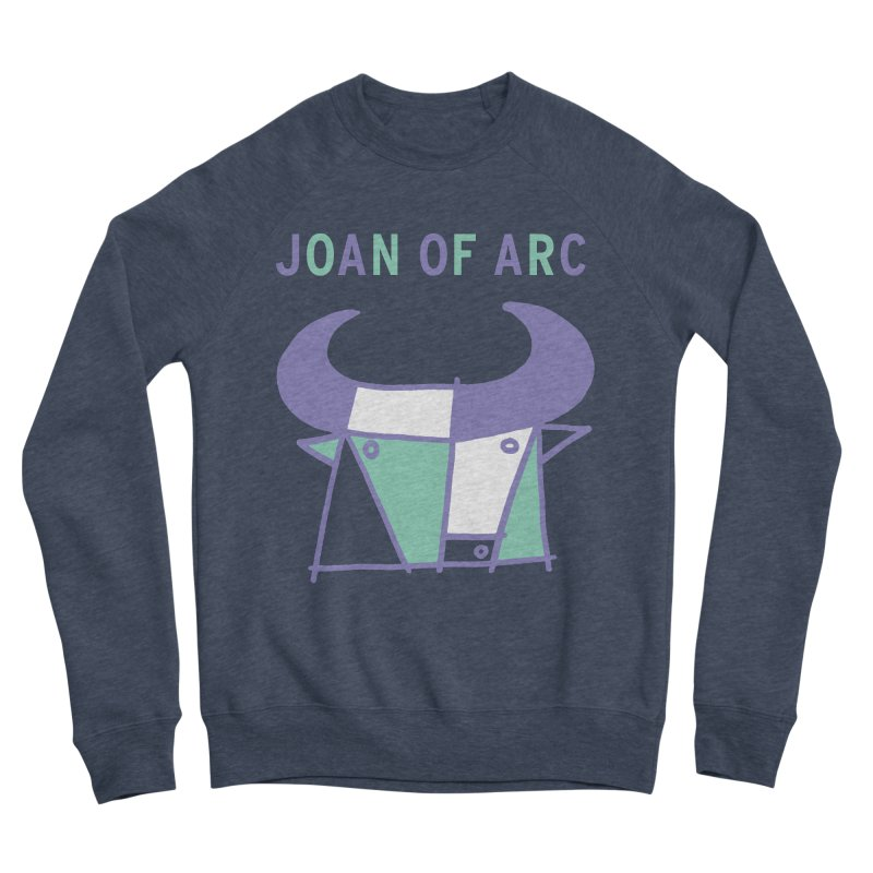 JOAN OF ARC - BULL Women's Sponge Fleece Sweatshirt by Polyvinyl Threadless Shop