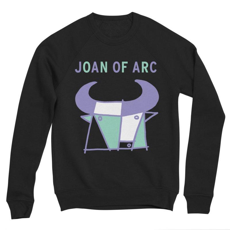 JOAN OF ARC - BULL Women's Sponge Fleece Sweatshirt by Polyvinyl Threadless Shop