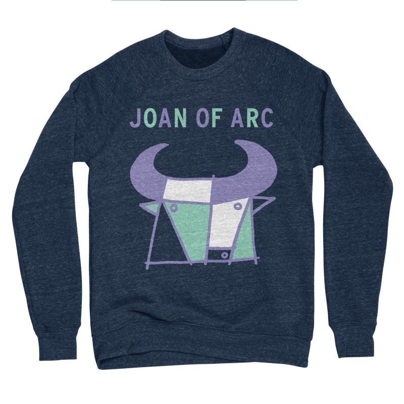 JOAN OF ARC - BULL Men's Sponge Fleece Sweatshirt by Polyvinyl Threadless Shop