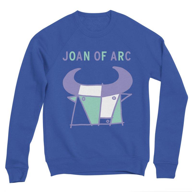 JOAN OF ARC - BULL Men's Sponge Fleece Sweatshirt by Polyvinyl Threadless Shop