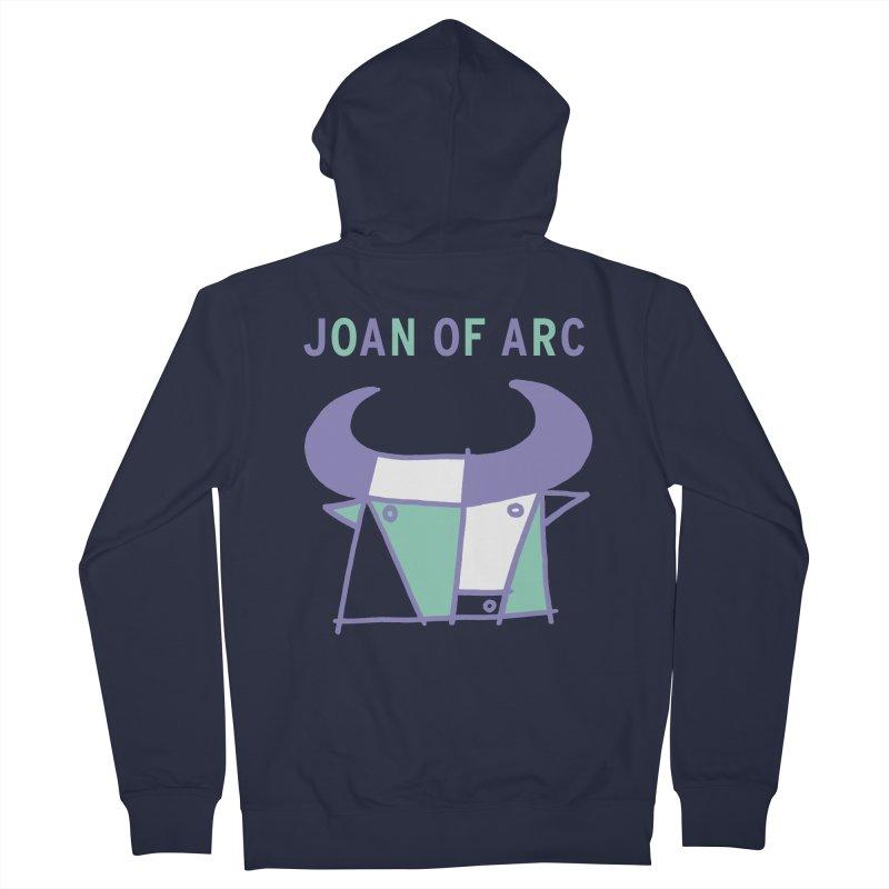 JOAN OF ARC - BULL Women's Zip-Up Hoody by Polyvinyl Threadless Shop
