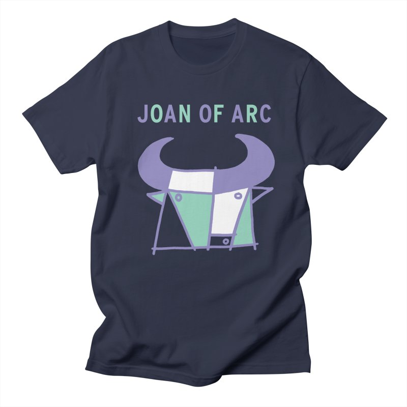 JOAN OF ARC - BULL in Men's Regular T-Shirt Navy by Polyvinyl Threadless Shop