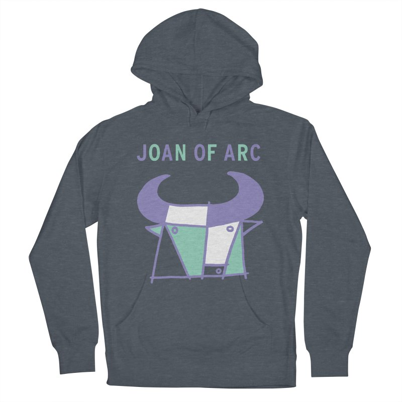 JOAN OF ARC - BULL Women's French Terry Pullover Hoody by Polyvinyl Threadless Shop