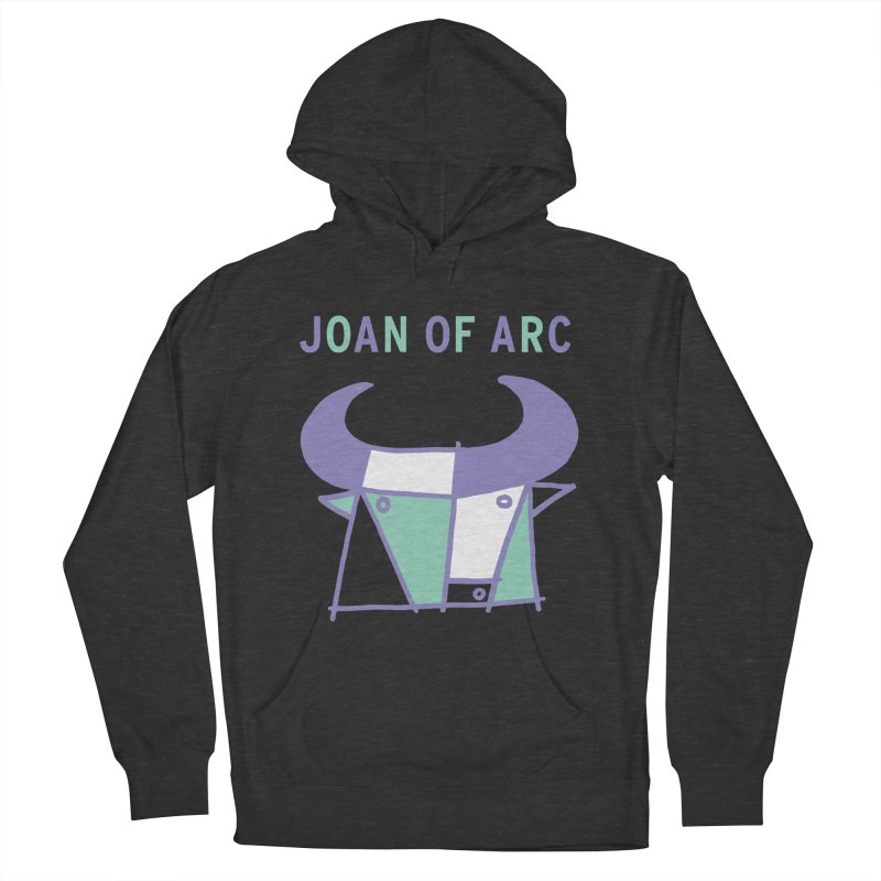 JOAN OF ARC - BULL Men's French Terry Pullover Hoody by Polyvinyl Threadless Shop
