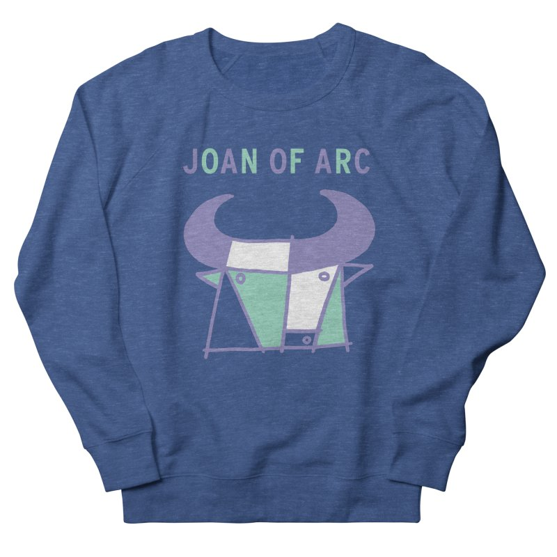 JOAN OF ARC - BULL Women's French Terry Sweatshirt by Polyvinyl Threadless Shop