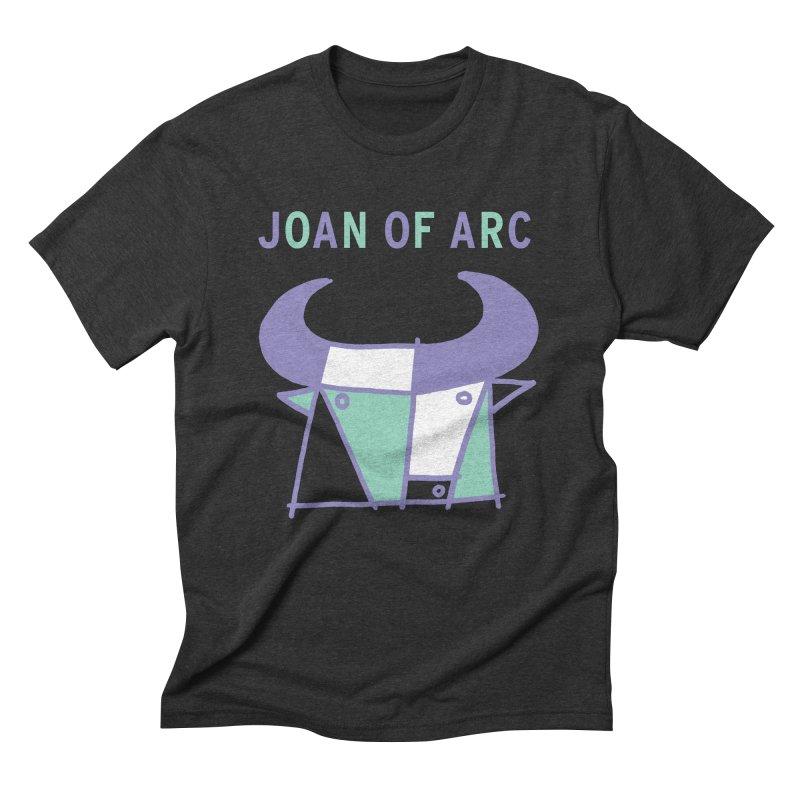 JOAN OF ARC - BULL Men's Triblend T-Shirt by Polyvinyl Threadless Shop