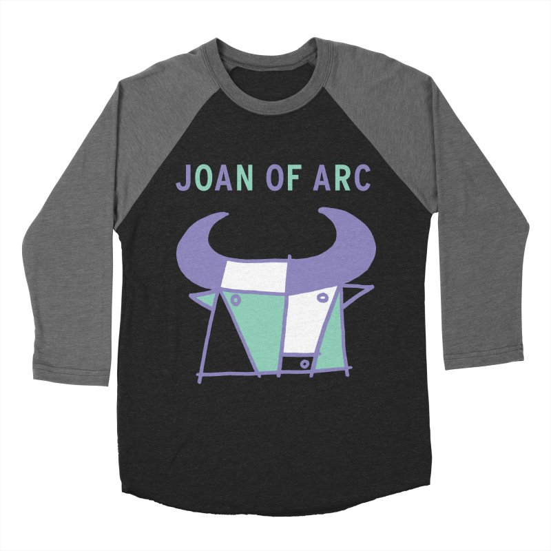 JOAN OF ARC - BULL Women's Baseball Triblend Longsleeve T-Shirt by Polyvinyl Threadless Shop