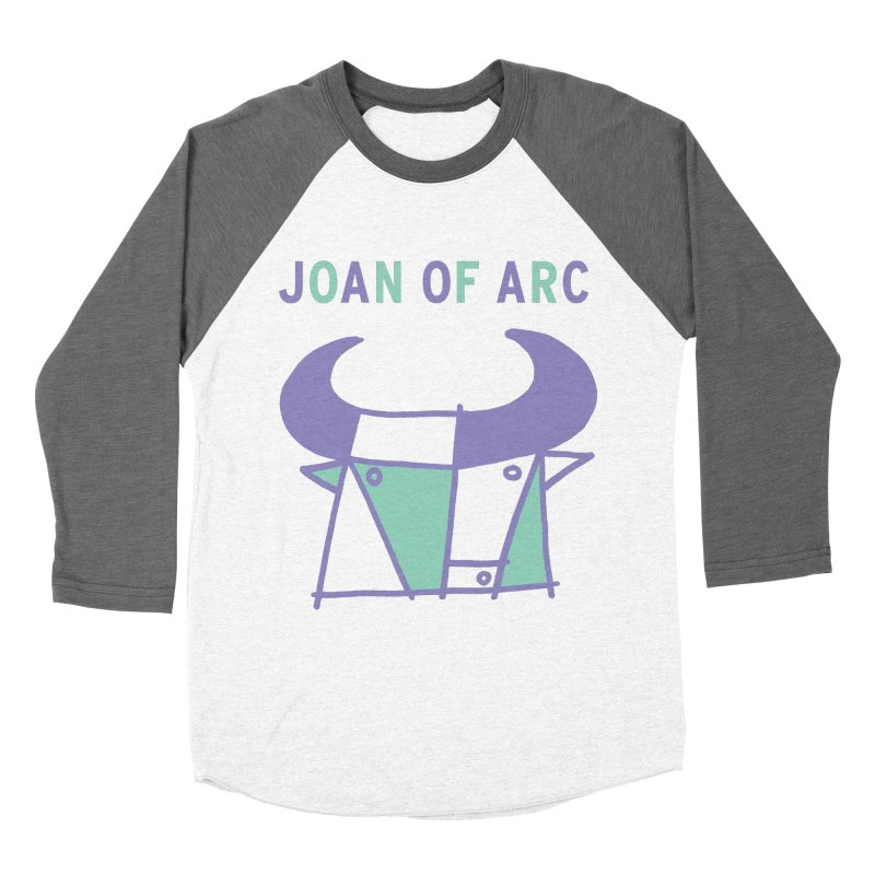 JOAN OF ARC - BULL Men's Baseball Triblend Longsleeve T-Shirt by Polyvinyl Threadless Shop