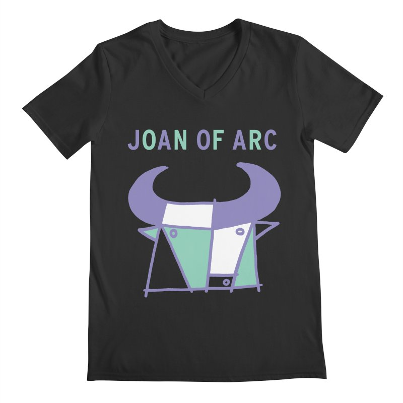JOAN OF ARC - BULL Men's Regular V-Neck by Polyvinyl Threadless Shop