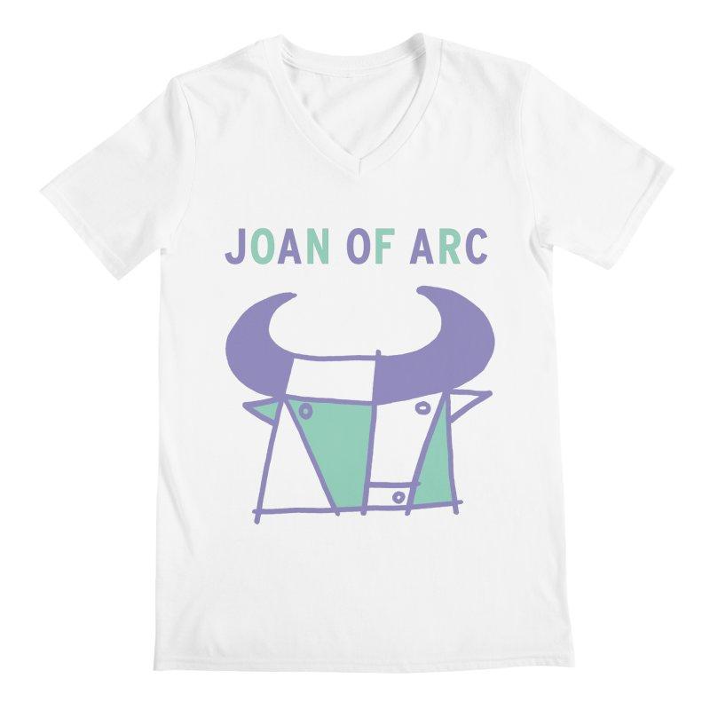 JOAN OF ARC - BULL Men's V-Neck by Polyvinyl Threadless Shop