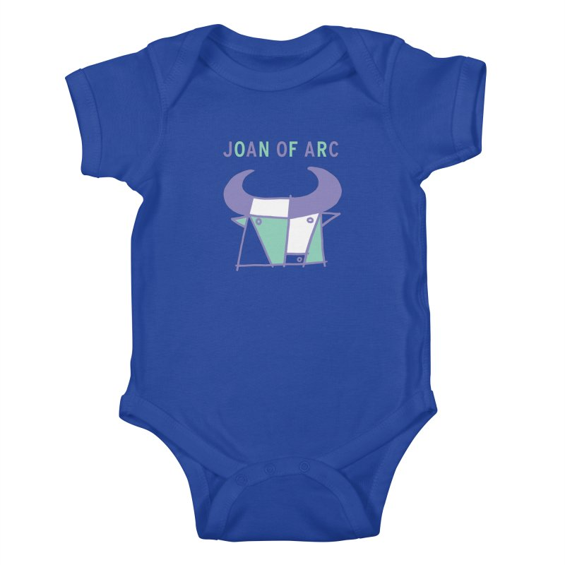 JOAN OF ARC - BULL Kids Baby Bodysuit by Polyvinyl Threadless Shop