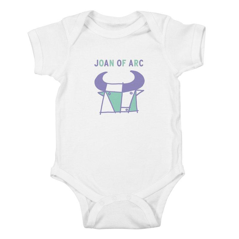 JOAN OF ARC - BULL Kids Baby Bodysuit by Polyvinyl Threadless Shop