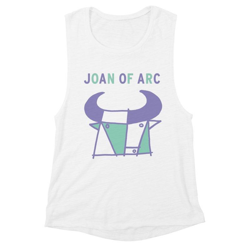 JOAN OF ARC - BULL Women's Muscle Tank by Polyvinyl Threadless Shop