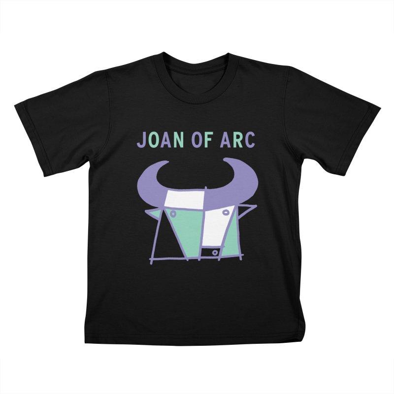 JOAN OF ARC - BULL Kids T-Shirt by Polyvinyl Threadless Shop