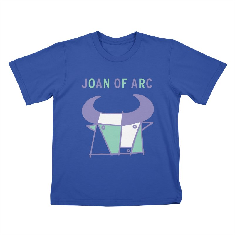 JOAN OF ARC - BULL Kids T-Shirt by Polyvinyl Threadless Shop