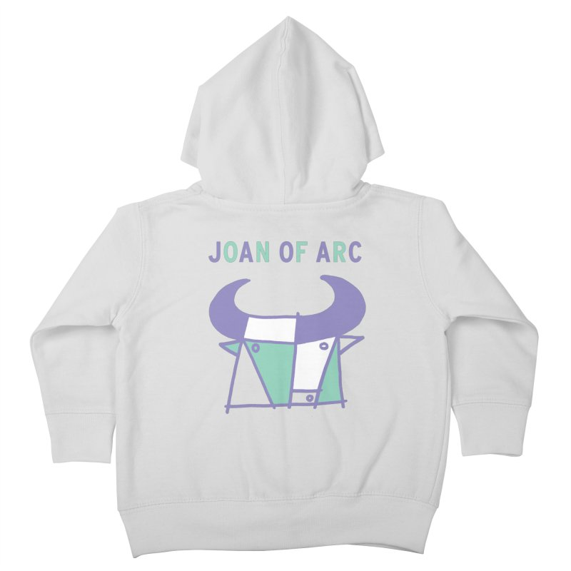 JOAN OF ARC - BULL Kids Toddler Zip-Up Hoody by Polyvinyl Threadless Shop