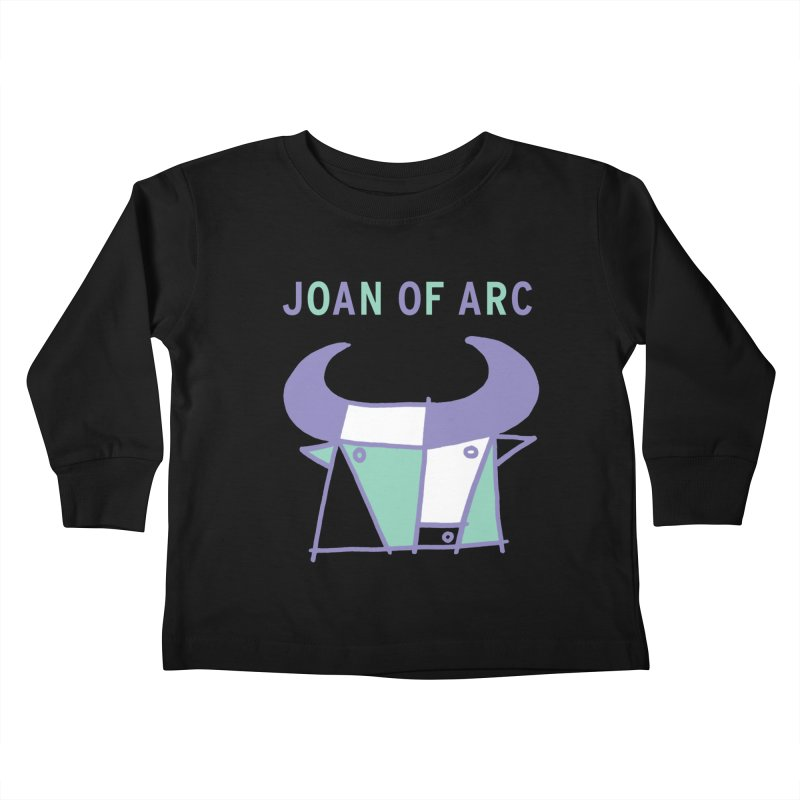 JOAN OF ARC - BULL Kids Toddler Longsleeve T-Shirt by Polyvinyl Threadless Shop