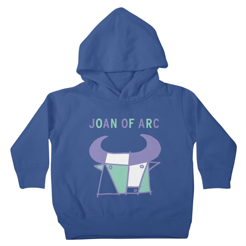JOAN OF ARC - BULL Kids Toddler Pullover Hoody by Polyvinyl Threadless Shop