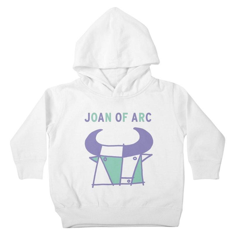 JOAN OF ARC - BULL Kids Toddler Pullover Hoody by Polyvinyl Threadless Shop