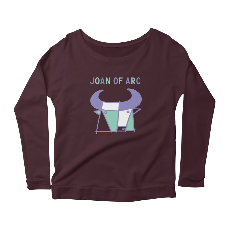 JOAN OF ARC - BULL Women's Longsleeve T-Shirt by Polyvinyl Threadless Shop