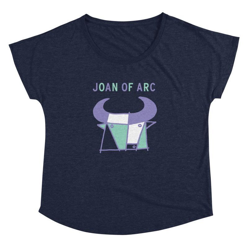 JOAN OF ARC - BULL Women's Dolman Scoop Neck by Polyvinyl Threadless Shop