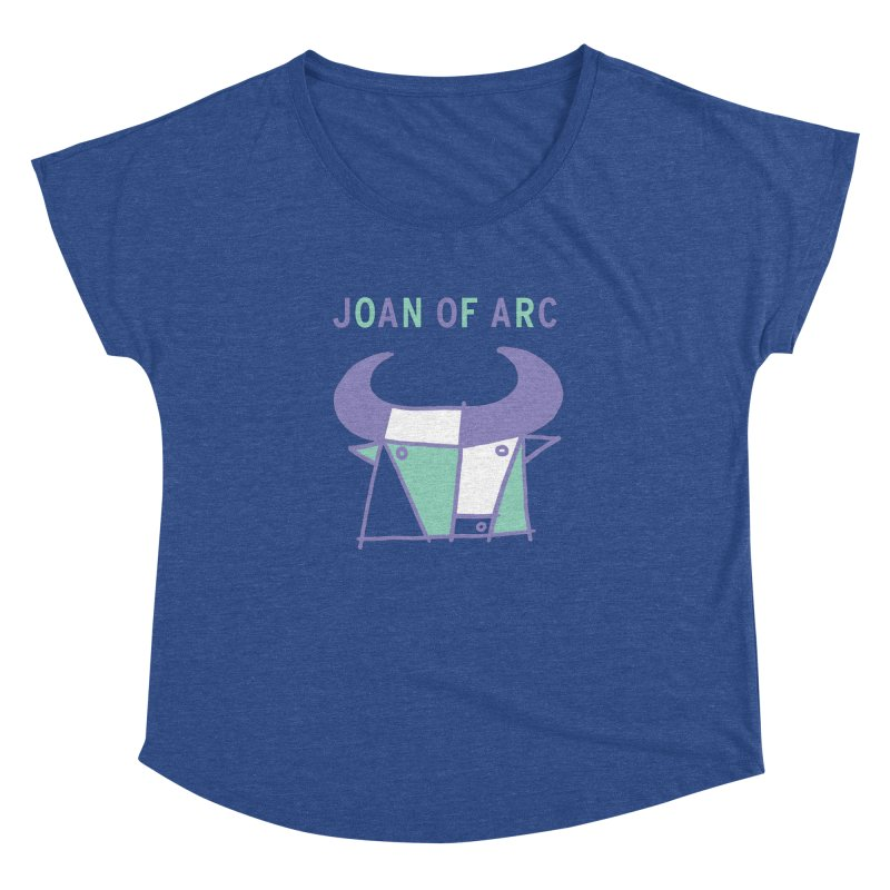 JOAN OF ARC - BULL Women's Dolman Scoop Neck by Polyvinyl Threadless Shop