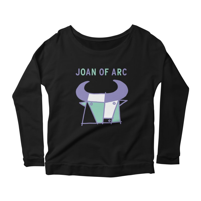 JOAN OF ARC - BULL Women's Scoop Neck Longsleeve T-Shirt by Polyvinyl Threadless Shop