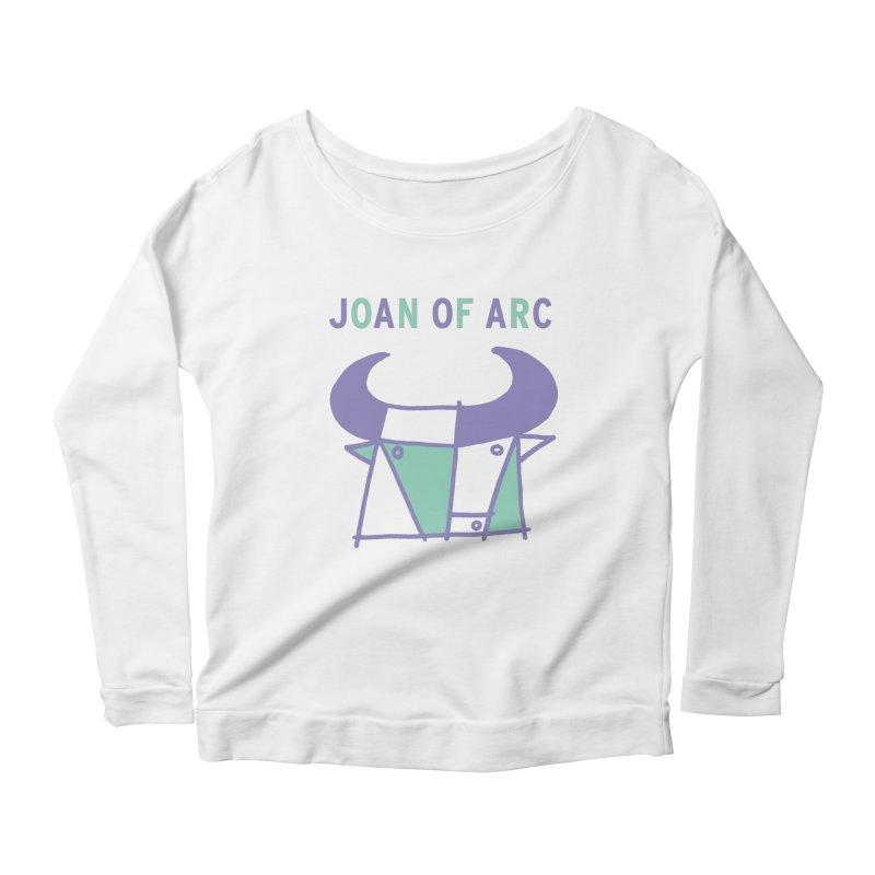 JOAN OF ARC - BULL Women's Scoop Neck Longsleeve T-Shirt by Polyvinyl Threadless Shop