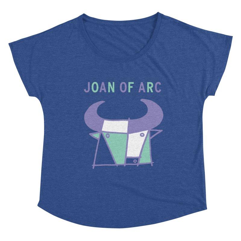 JOAN OF ARC - BULL Women's Scoop Neck by Polyvinyl Threadless Shop