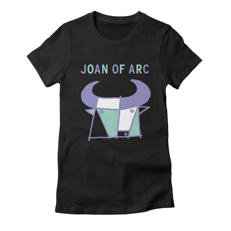 JOAN OF ARC - BULL Women's Fitted T-Shirt by Polyvinyl Threadless Shop