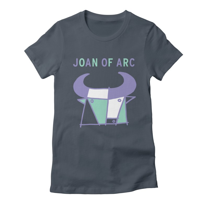 JOAN OF ARC - BULL Women's Fitted T-Shirt by Polyvinyl Threadless Shop