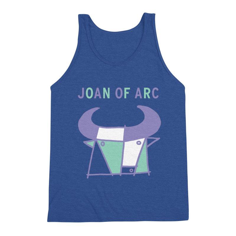 JOAN OF ARC - BULL Men's Triblend Tank by Polyvinyl Threadless Shop