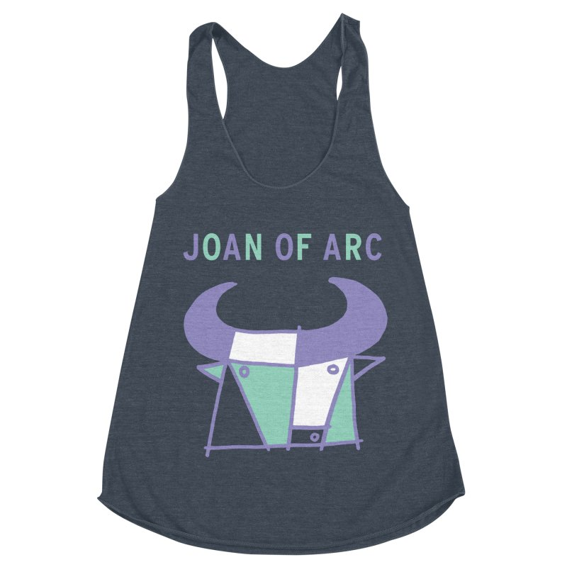 JOAN OF ARC - BULL Women's Racerback Triblend Tank by Polyvinyl Threadless Shop