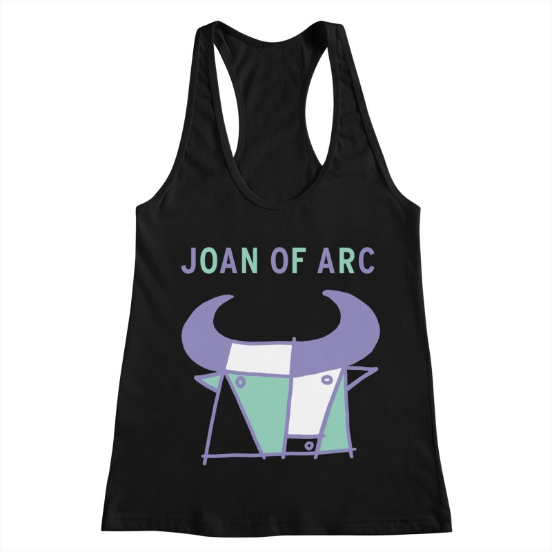 JOAN OF ARC - BULL Women's Racerback Tank by Polyvinyl Threadless Shop