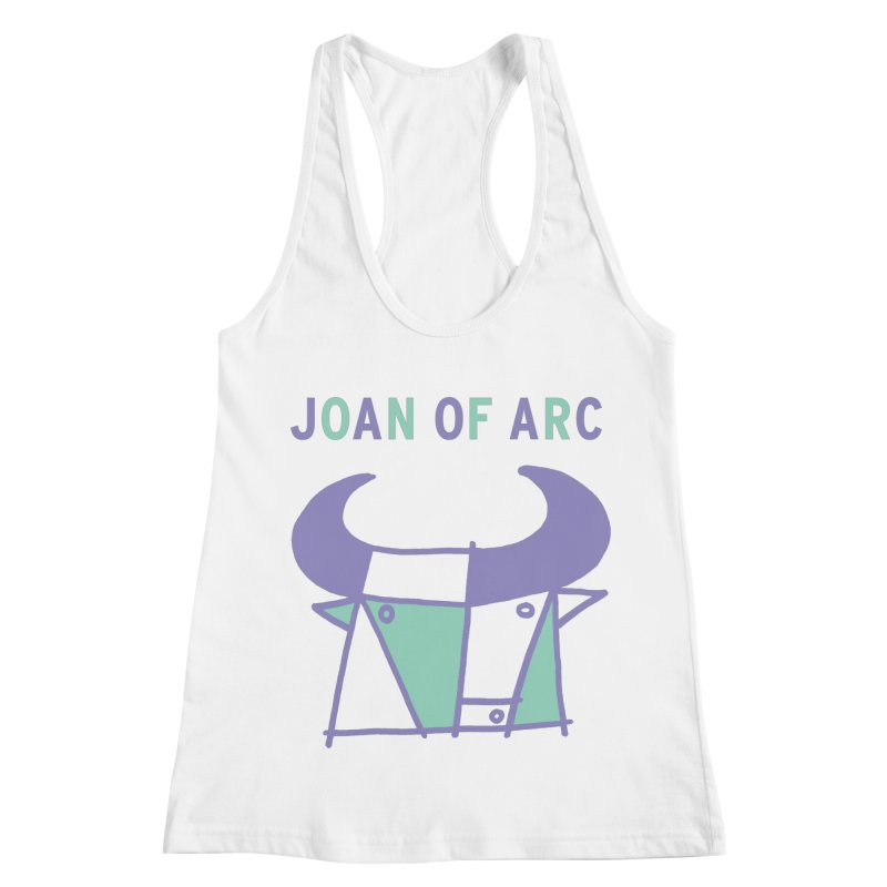 JOAN OF ARC - BULL Women's Racerback Tank by Polyvinyl Threadless Shop