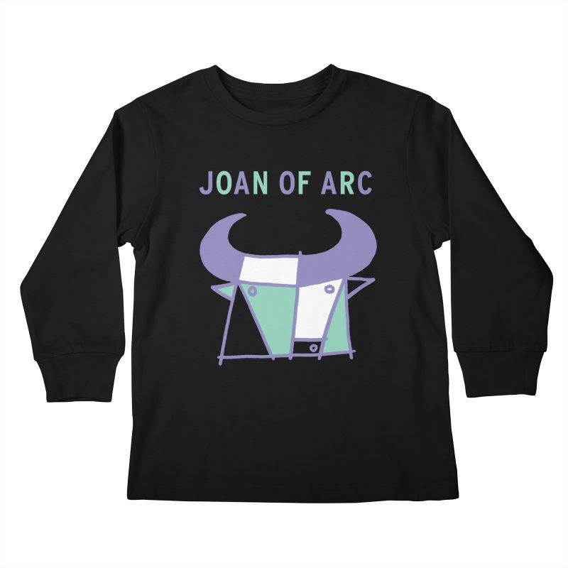 JOAN OF ARC - BULL Kids Longsleeve T-Shirt by Polyvinyl Threadless Shop