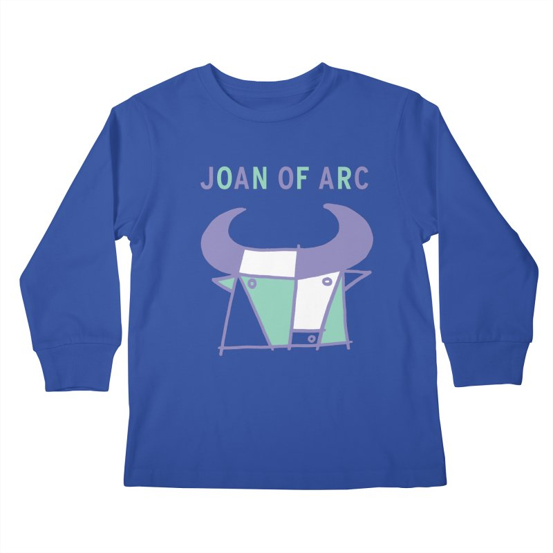JOAN OF ARC - BULL Kids Longsleeve T-Shirt by Polyvinyl Threadless Shop