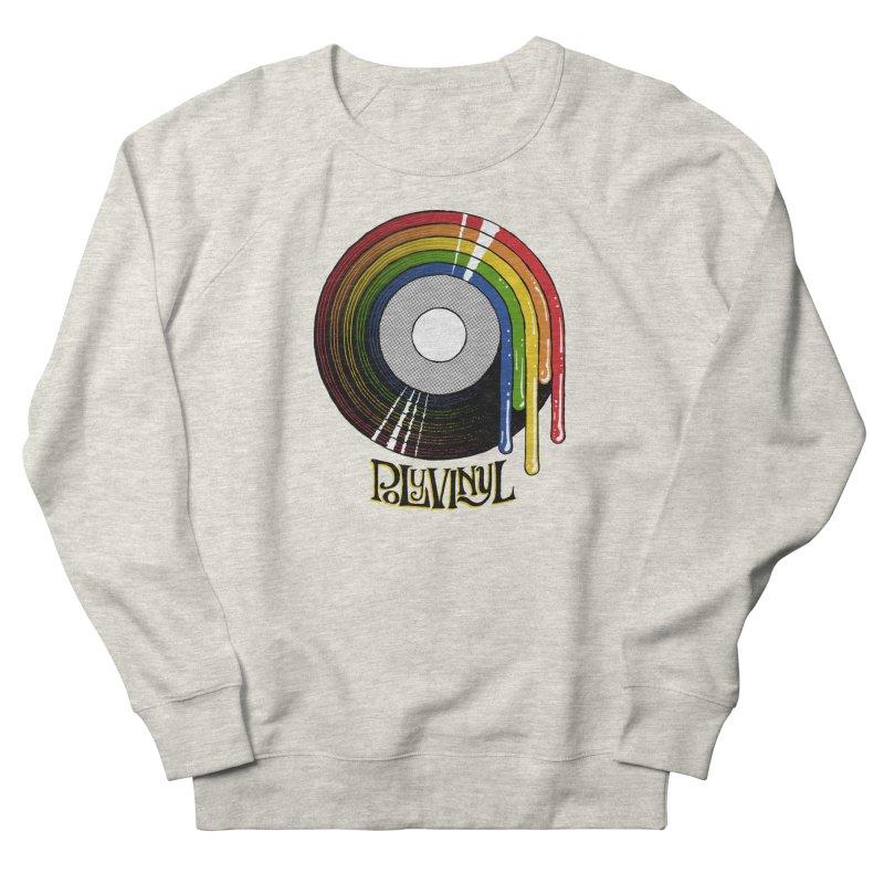 Polyvinyl - Rainbow Vinyl Men's French Terry Sweatshirt by Polyvinyl Threadless Shop