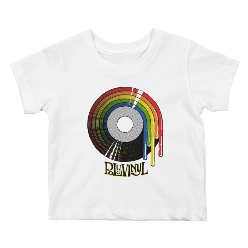 Polyvinyl - Rainbow Vinyl Kids Baby T-Shirt by Polyvinyl Threadless Shop