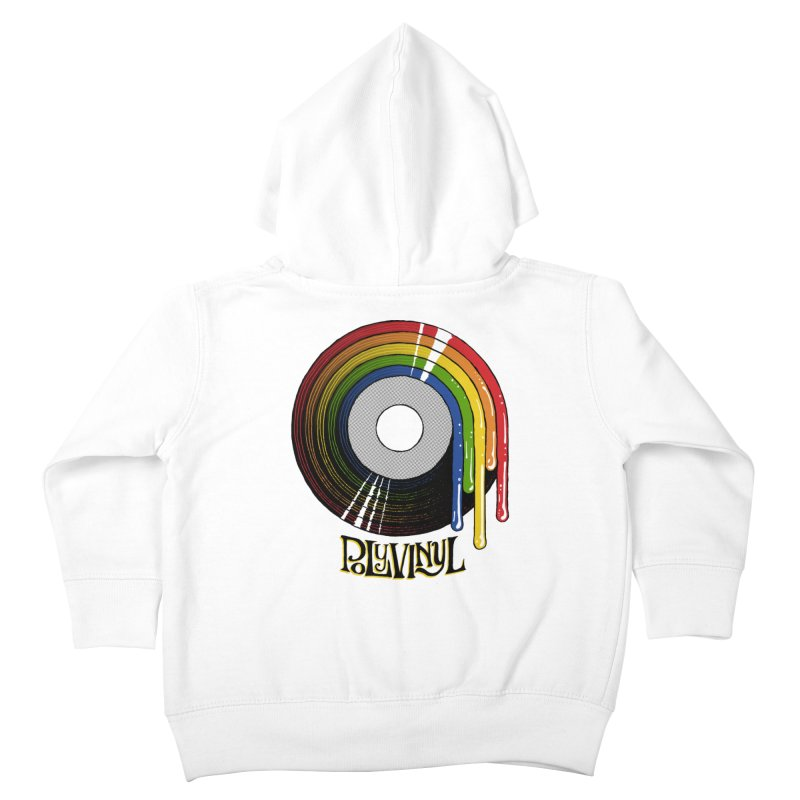 Polyvinyl - Rainbow Vinyl Kids Toddler Zip-Up Hoody by Polyvinyl Threadless Shop