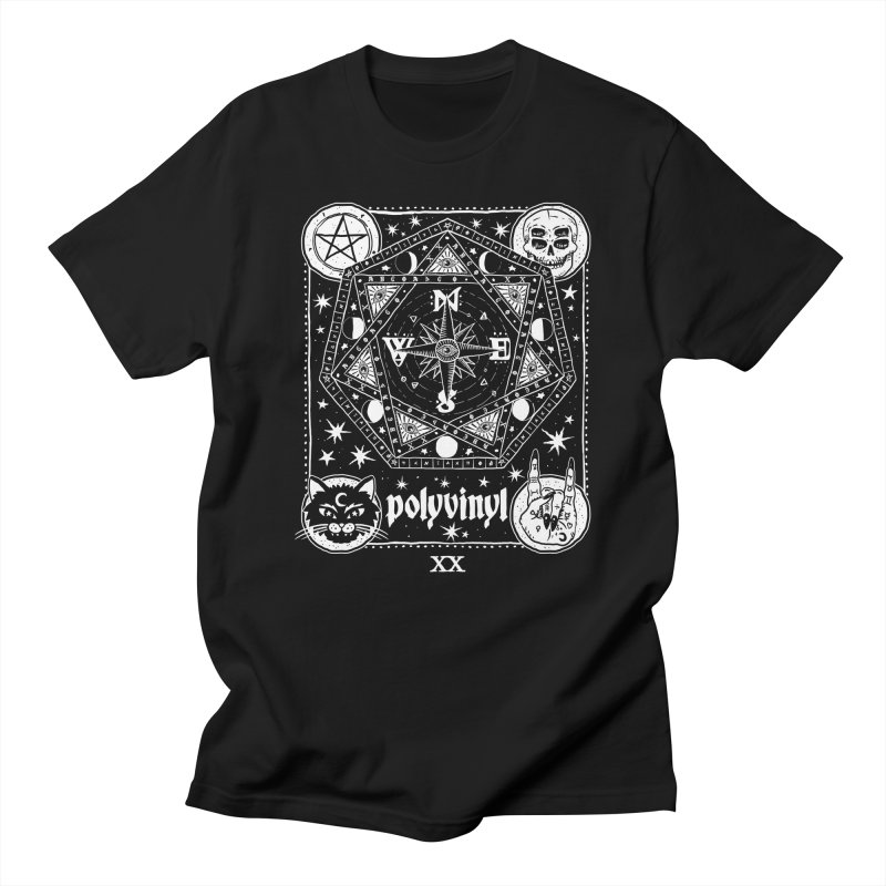 Polyvinyl x IHEARTJLP Collaboration in Men's T-Shirt Black by Polyvinyl Threadless Shop