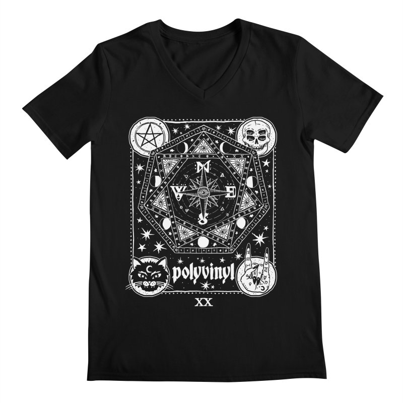 Polyvinyl x IHEARTJLP Collaboration Men's V-Neck by Polyvinyl Threadless Shop