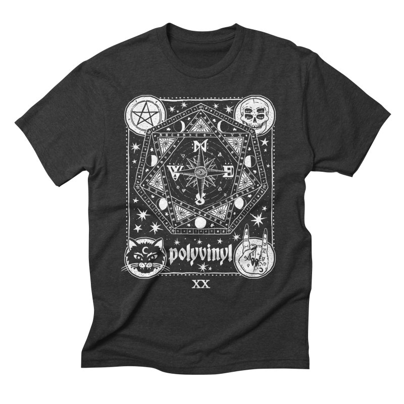 Polyvinyl x IHEARTJLP Collaboration Men's Triblend T-shirt by Polyvinyl Threadless Shop