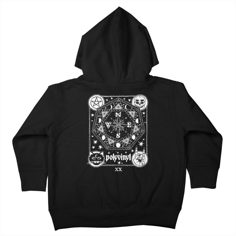 Polyvinyl x IHEARTJLP Collaboration Kids Toddler Zip-Up Hoody by Polyvinyl Threadless Shop