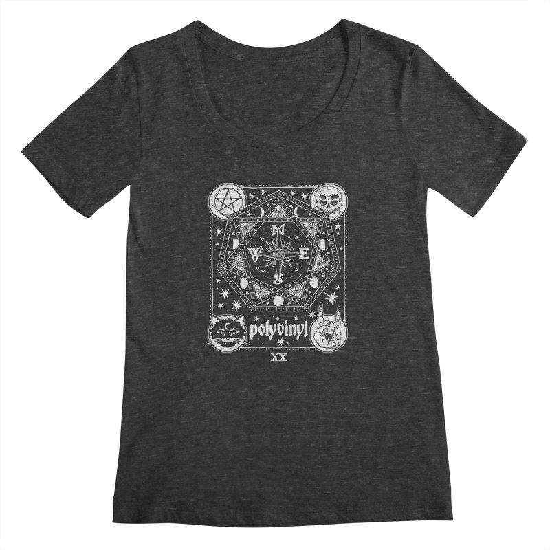 Polyvinyl x IHEARTJLP Collaboration Women's Scoopneck by Polyvinyl Threadless Shop