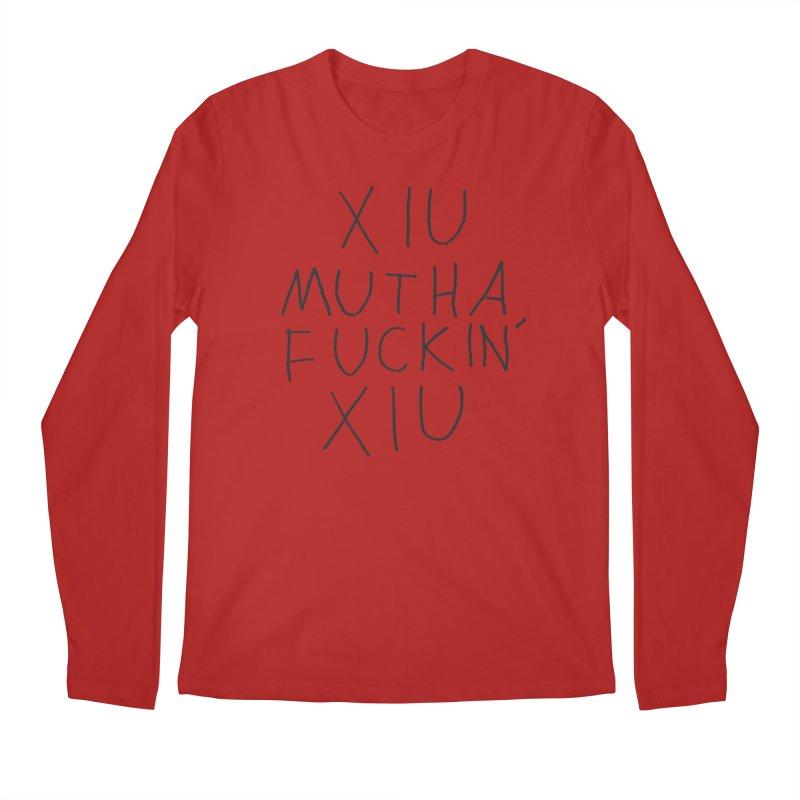 Xiu Xiu - Xiu Mutha Fuckin' Xiu Men's Longsleeve T-Shirt by Polyvinyl Threadless Shop